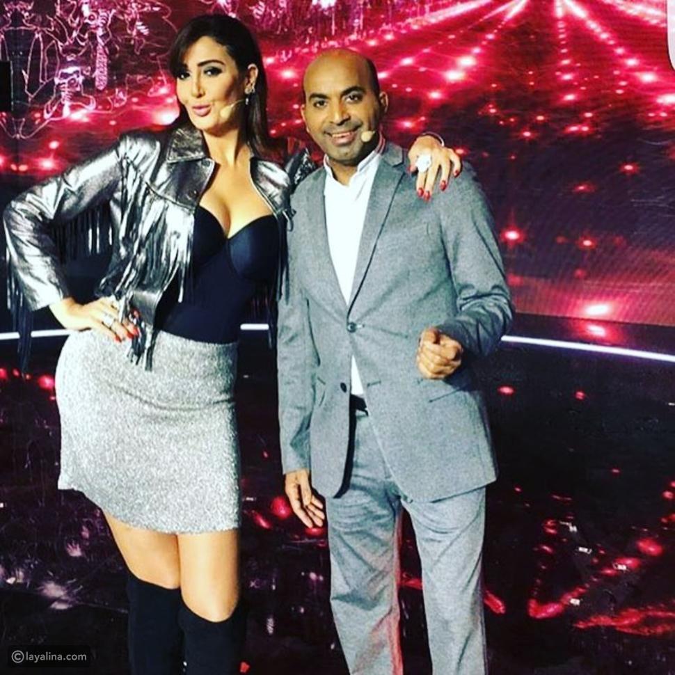 غادة عبد الرازق مع طارق العلي