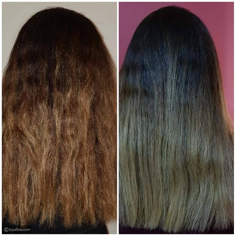 هكذا أصبح شكل شعر مي عز الدين بعد خضوعها لعلاج مكثف