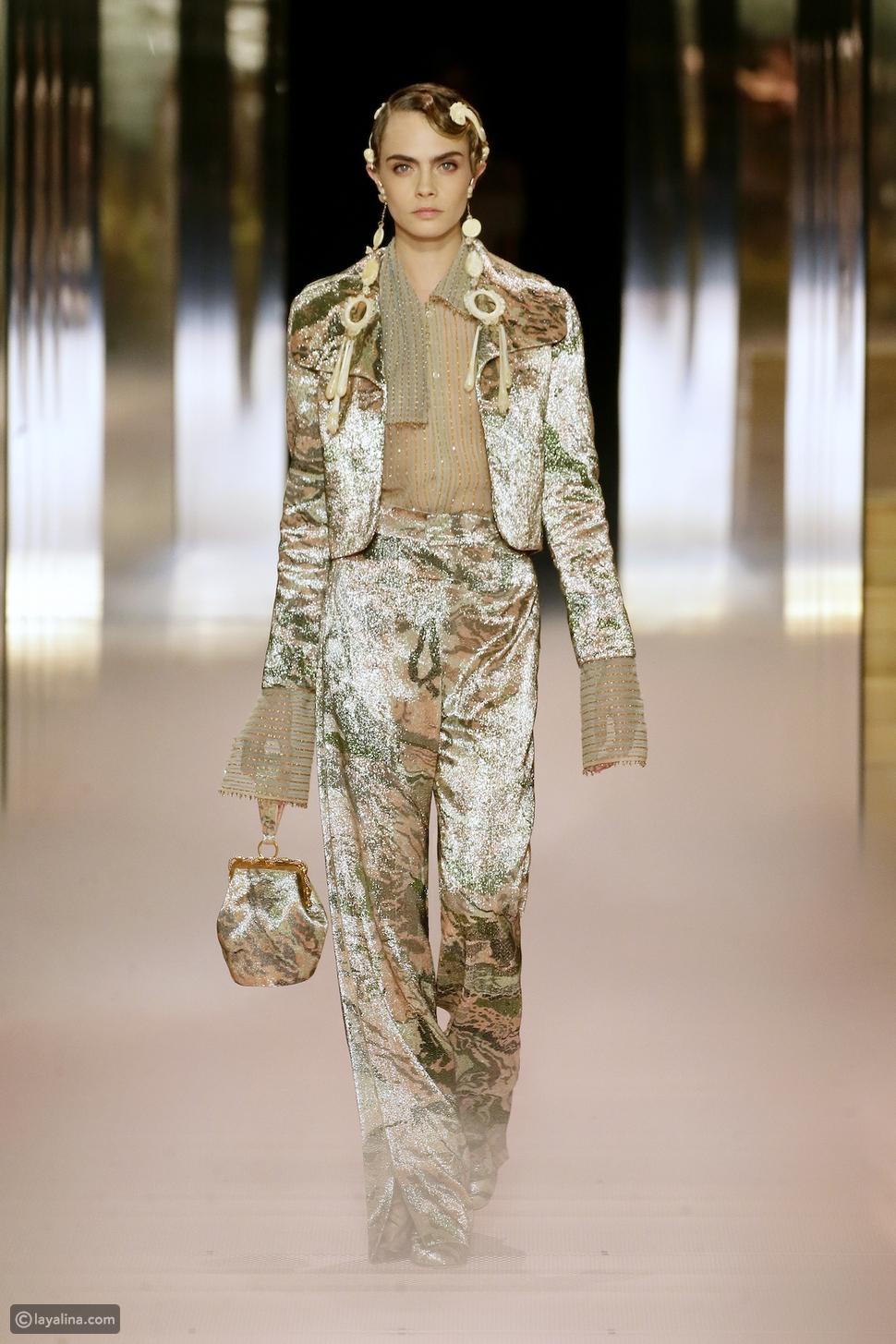 كشف كيم جونز النقاب عن أول مجموعة أزياء له لدار أزياء Fendi
