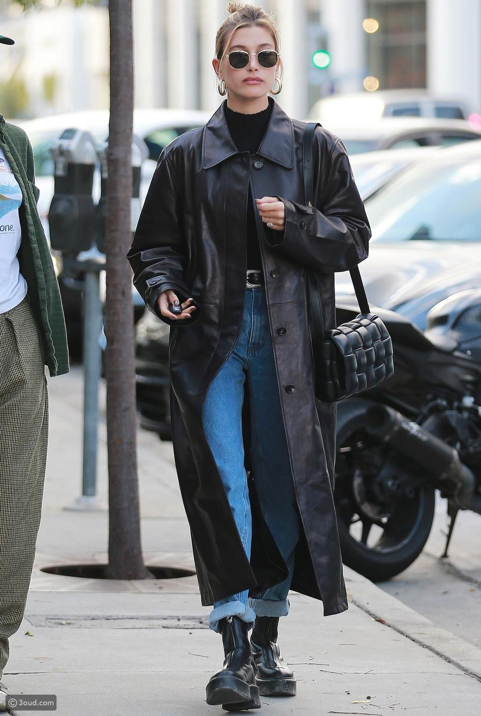 عارضة الأزياءهيلي بيبرHailey Bieber