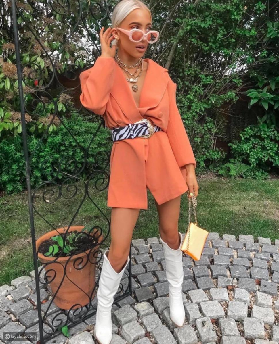 ألوان الباستيل البرتقالية