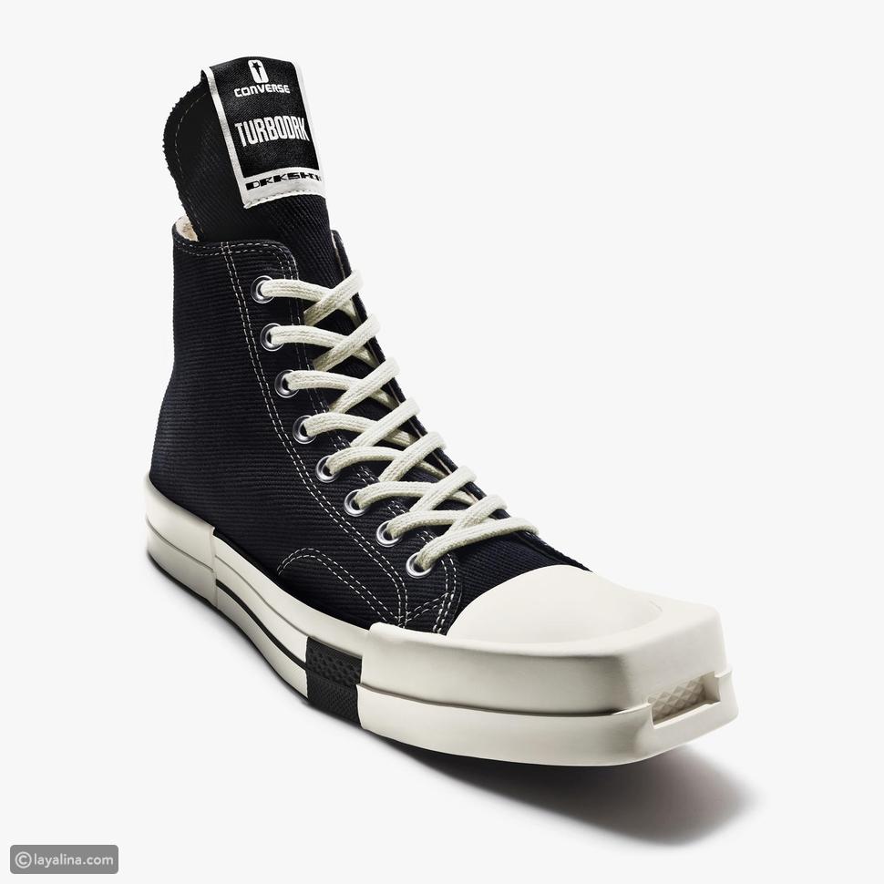 أحذية كونفيرس × ريك أوينزConverse x Rick Owens