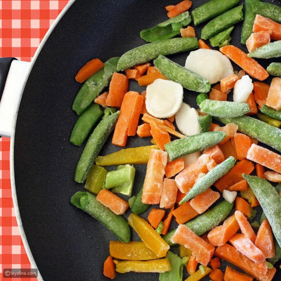 9 قواعد لتجميد الأطعمة للحصول على وجبة سهلة الإعداد