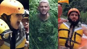 فيديو|أول برومو لبرنامج رامز جلال «رامز في الشلال»
