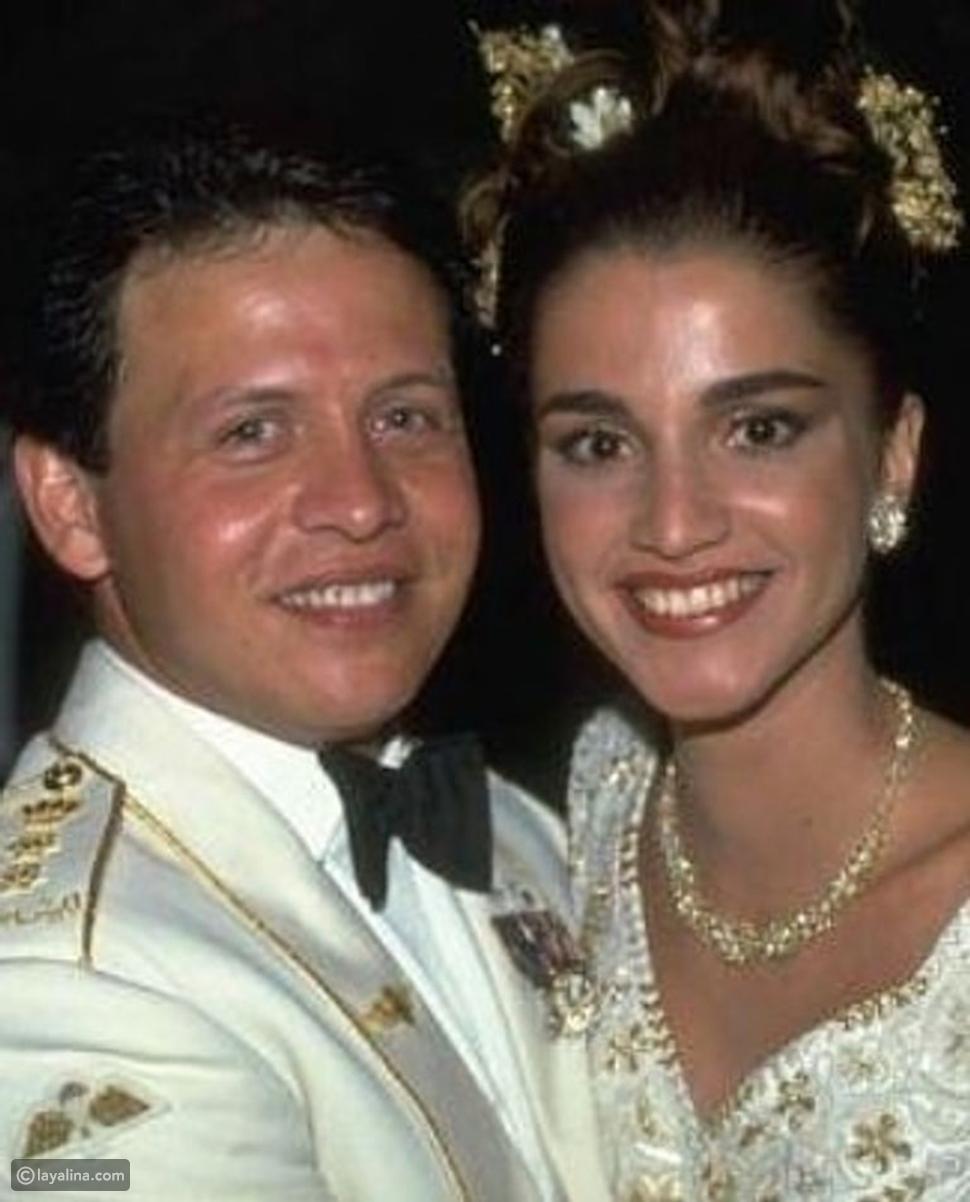 عيد ميلادها الـ51 قصة حب الملكة رانيا والملك عبد الله من أول نظرة