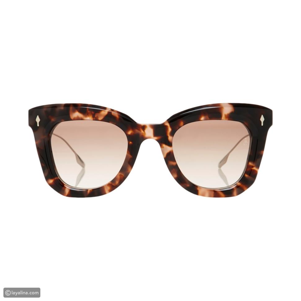 نظارة باللون البني من مجموعة Kate Bosworth X Jacques Marie Mage