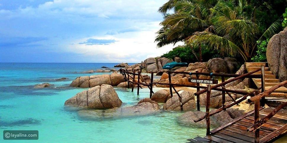 أفضل 5 جزر سياحية في تايلاند