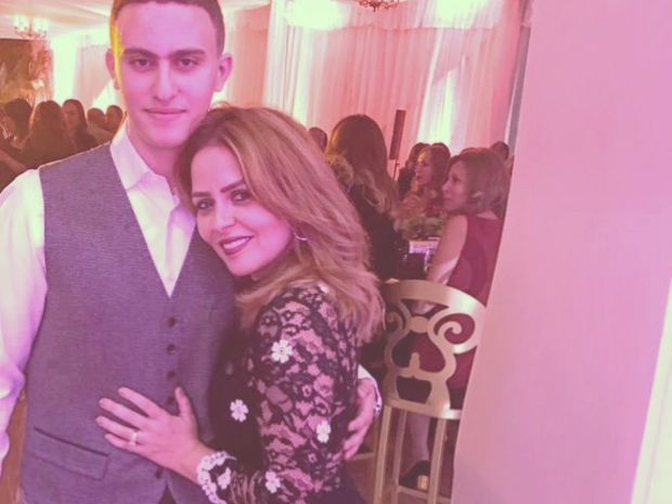 ابن أحمد السقا ووالدته