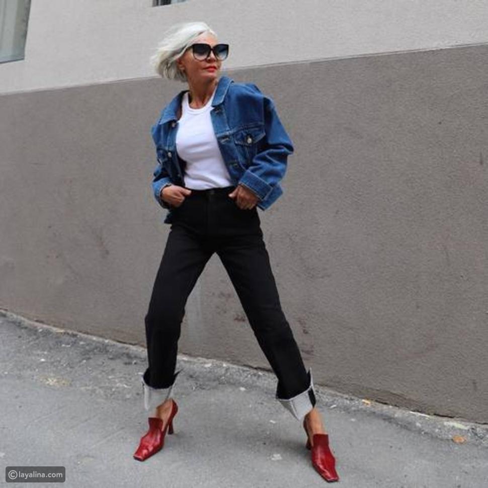 جينز مطويCuffed Jeans