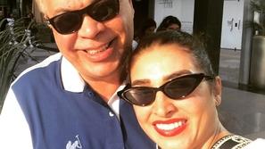 على طريقة فدوى: روجينا تهنئ زوجها بسلامته بعد العملية الجراحية