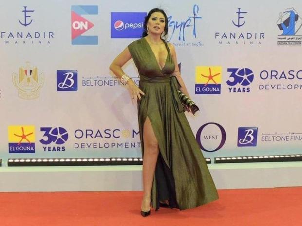 رانيا يوسف من حفل افتتاح مهرجان الجونة 2019
