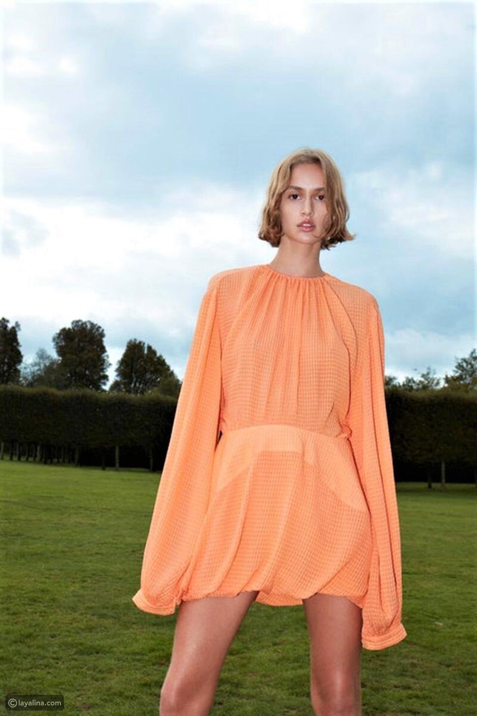 إيما روبرتس تنسق فستانها من  Stella McCartney مع ابنها الرضيع