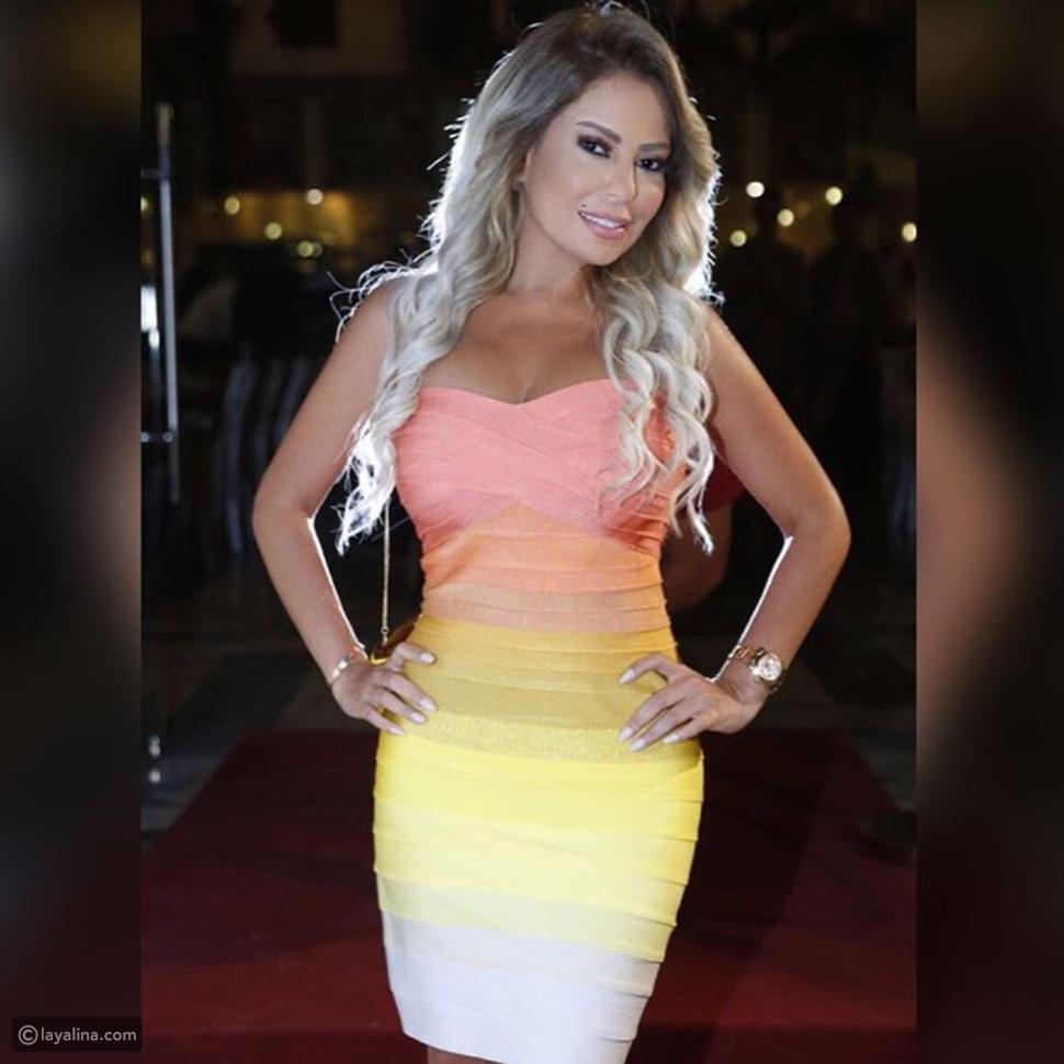 صور فستان ليليا الأطرش يعرضها لسخرية واسعة وهذا ما شبهها النشطاء به