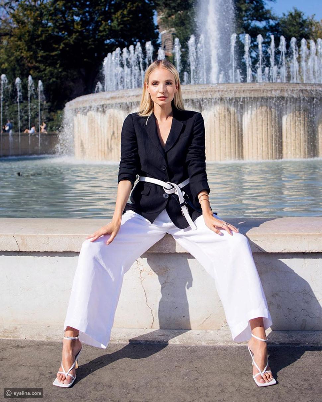 مدوّنة الموضة Leonie Hanne