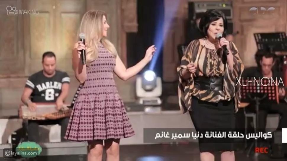شاهدوا فستان دنيا سمير غانم يثير الانتقادات في أحدث ظهور لها