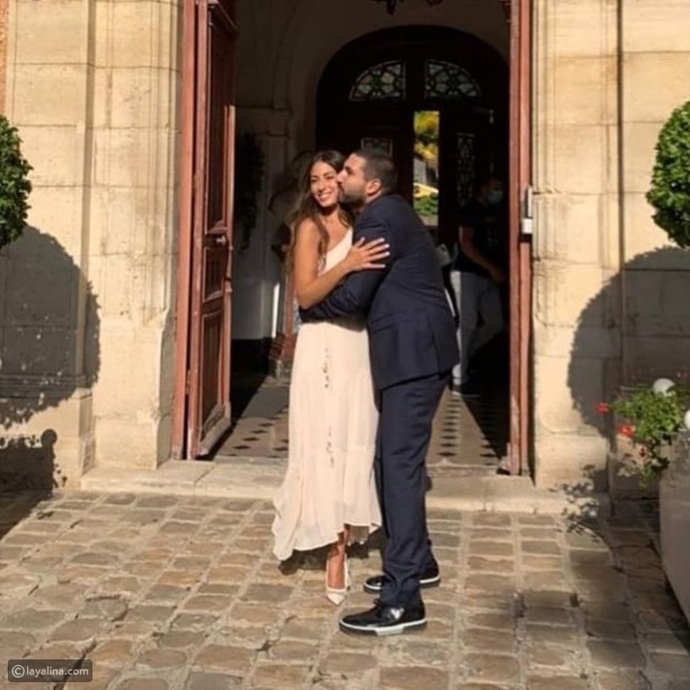 زفاف هبة طوجي وإبراهيم معلوف