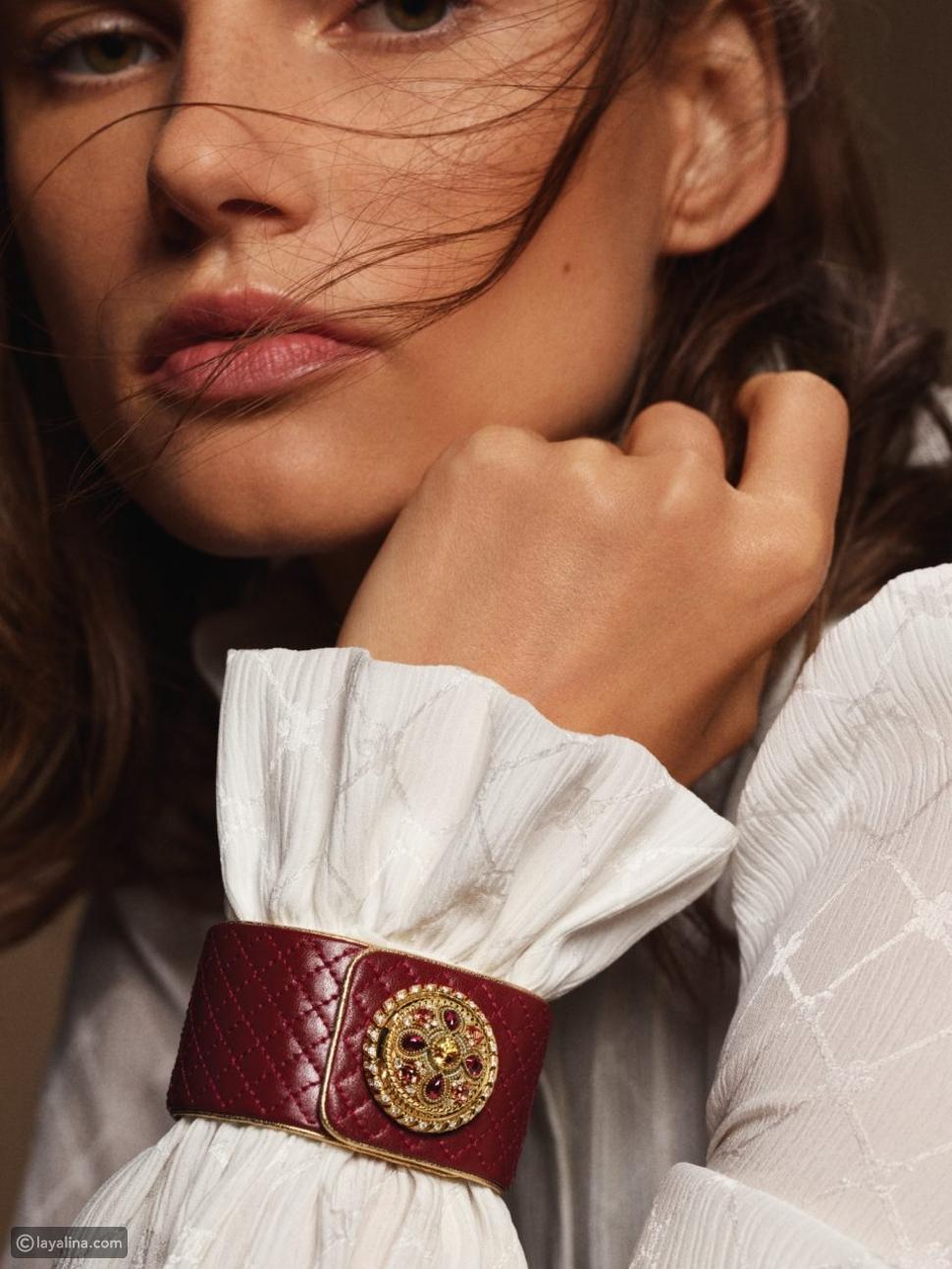 ساعات Mademoiselle Privé Bouton من Chanel المستوحاة من أزياء الدار