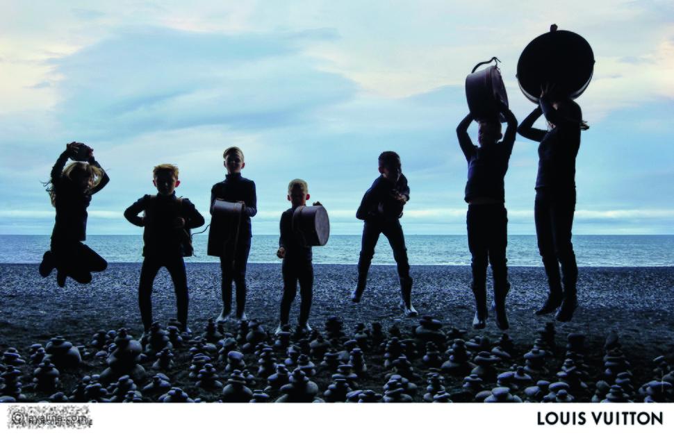 حملة Louis Vuitton