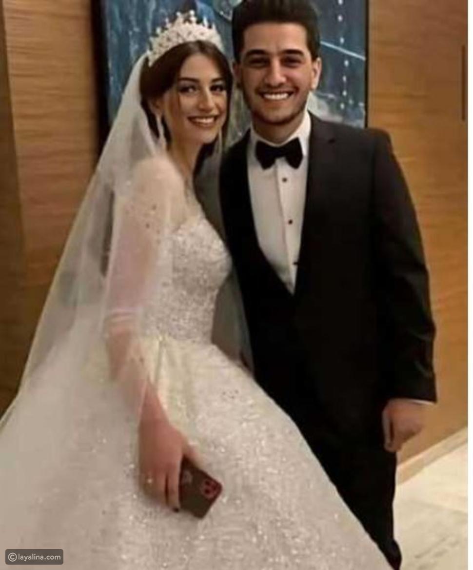 لينا قيشاوي خطيبة محمد عساف السابقة تحتفل بزواجها وتنشر صورًا من عرسها