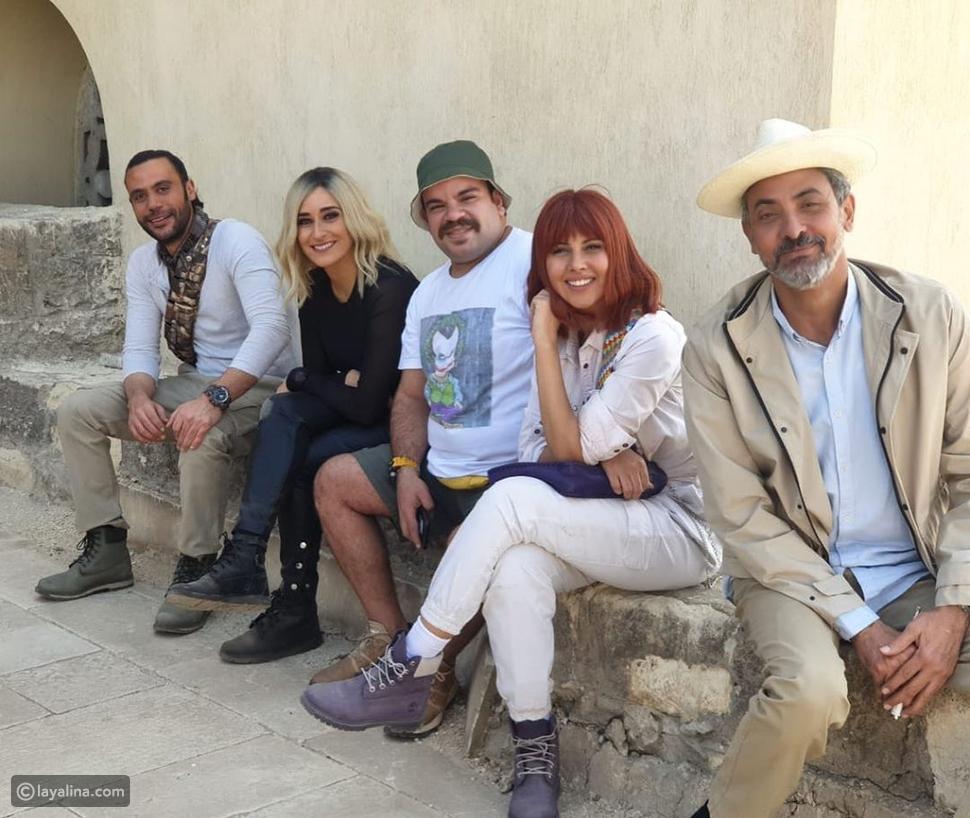 شاهدوا تحدي منع الضحك بين محمد عادل إمام ونجوم فيلم لص بغداد