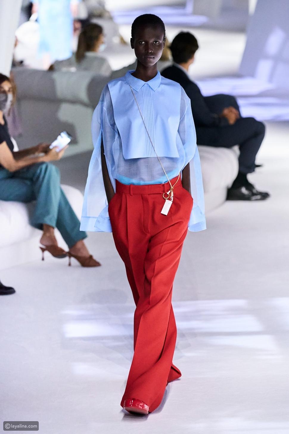 في عرض أزياءFendiلمجموعة ربيع وصيف 2021