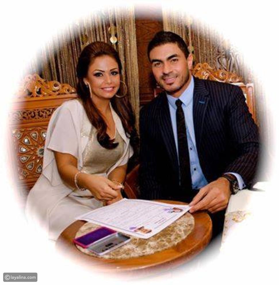 صورة رسالة خالد سليم الرومانسية لزوجته بمناسبة عيد زواجهما