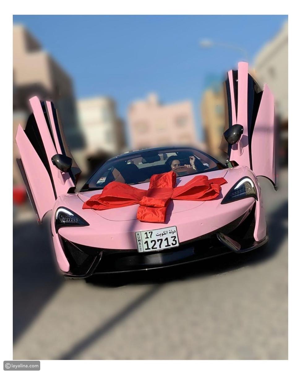 Lamborghini Aventador سيارة فرح الهادي