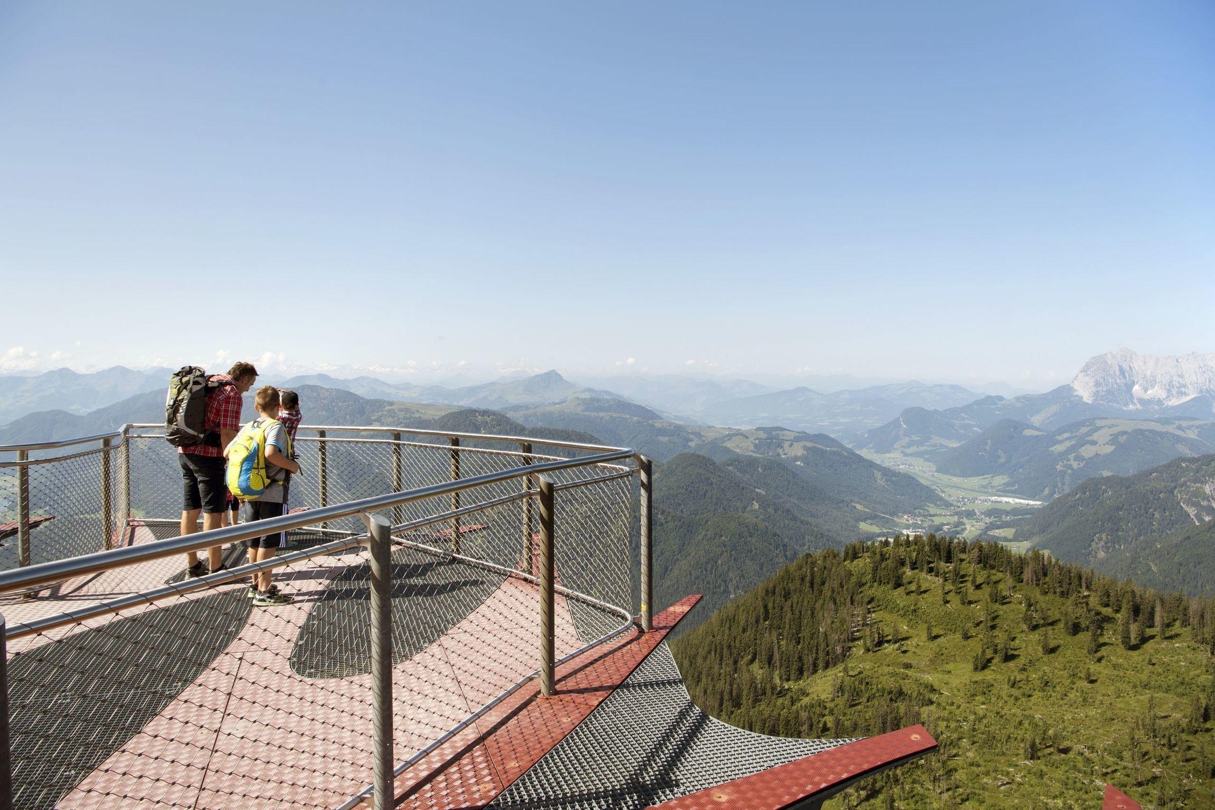 إليكم أروع المناظر من القمة التي يمكنكم أن تروها في النمسا