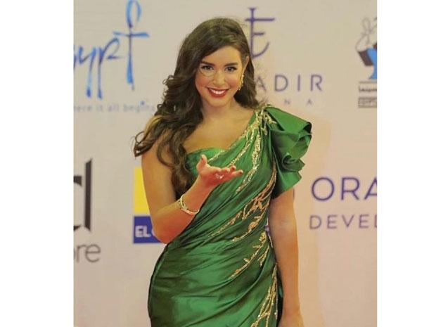 هكذا أطلت ياسمين صبري في حفل افتتاح مهرجان الجونة