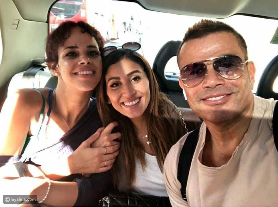 أبناء عمرو دياب يحتفلون بوالدتهم في عيد الأب: هل تعمدوا تجاهل والدهم؟