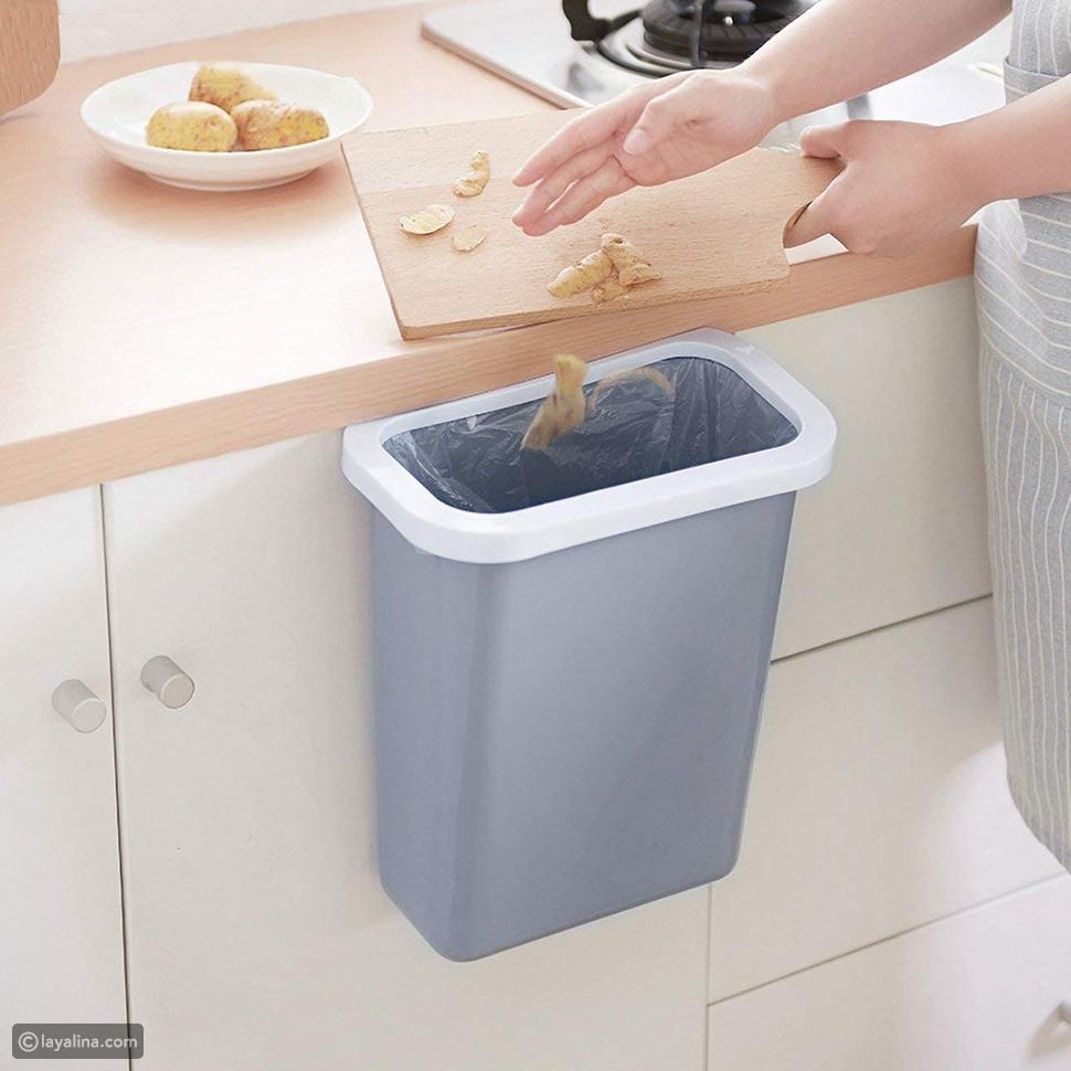 صندوق تخزين القمامة المعلق