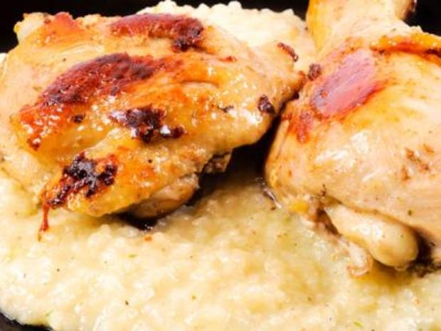 طريقة سليق دجاج باللبن