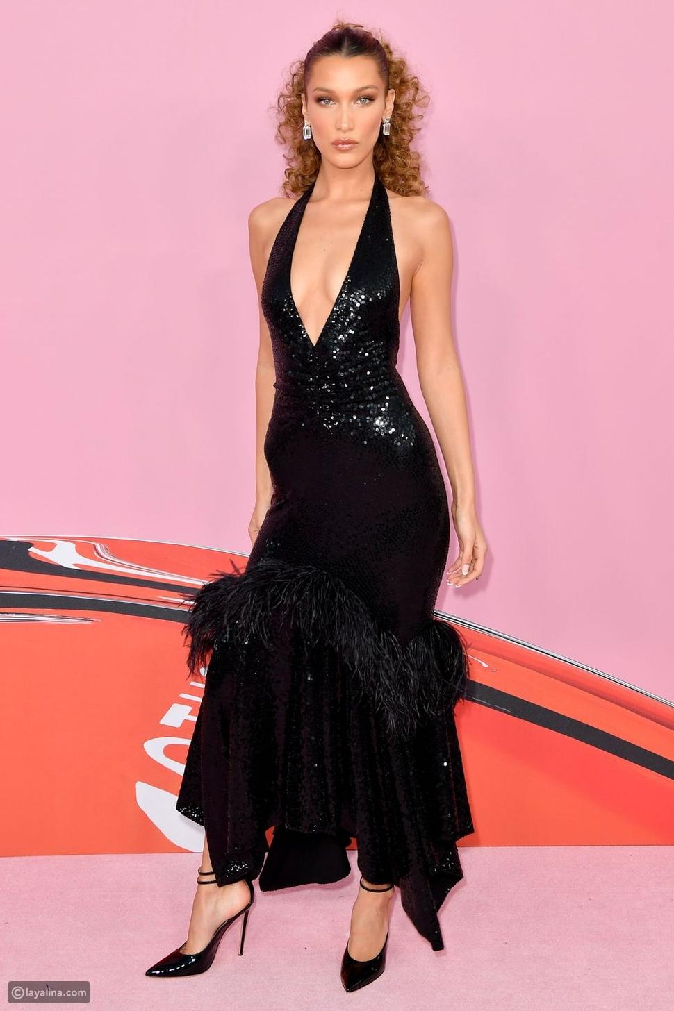 بيلا حديد في جوائز أزياء CFDA