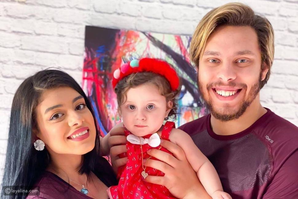 أحمد حسن وزينب وابنتهما