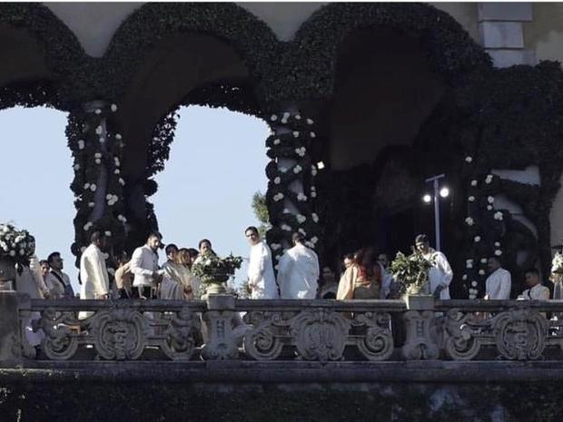 أجواء حفل زفاف رانفير سينغ وديبيكا بادوكون