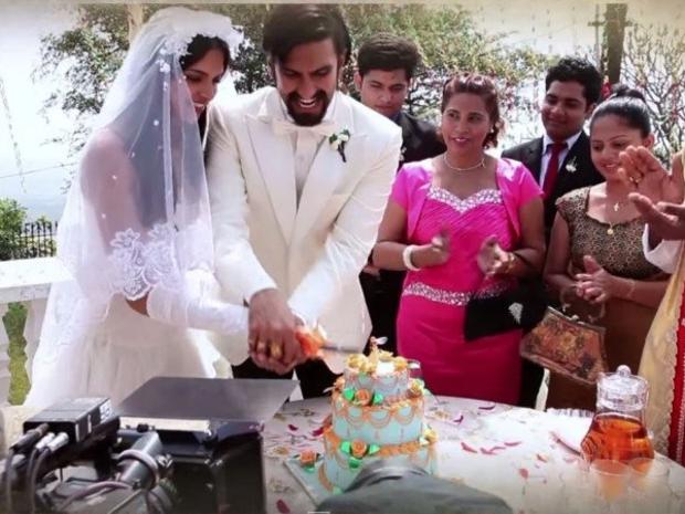 حفل زفاف رانفير سينغ وديبيكا بادوكون والعريس يتصرف بعفوية