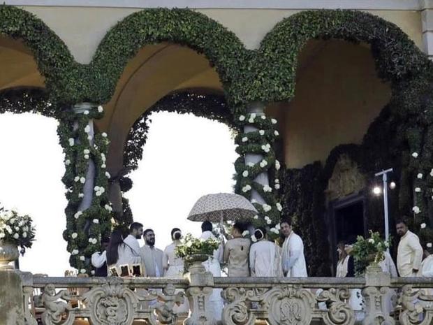 ديكورات حفل زفاف رانفير سينغ وديبيكا بادوكون