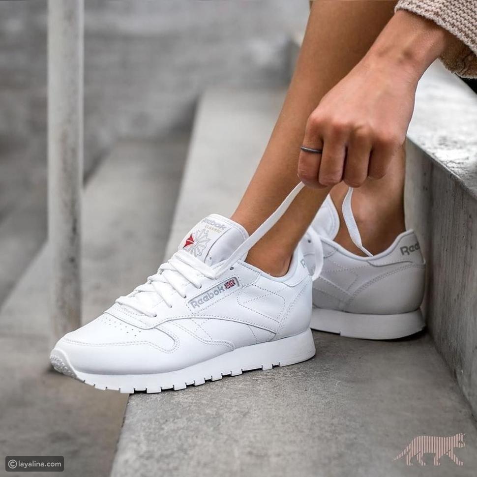 موضة الأحذية الرياضية للنساء صيف 2021