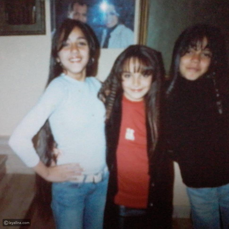 صورة سارة سلامة في طفولتها.. لم تتغير كثيراً