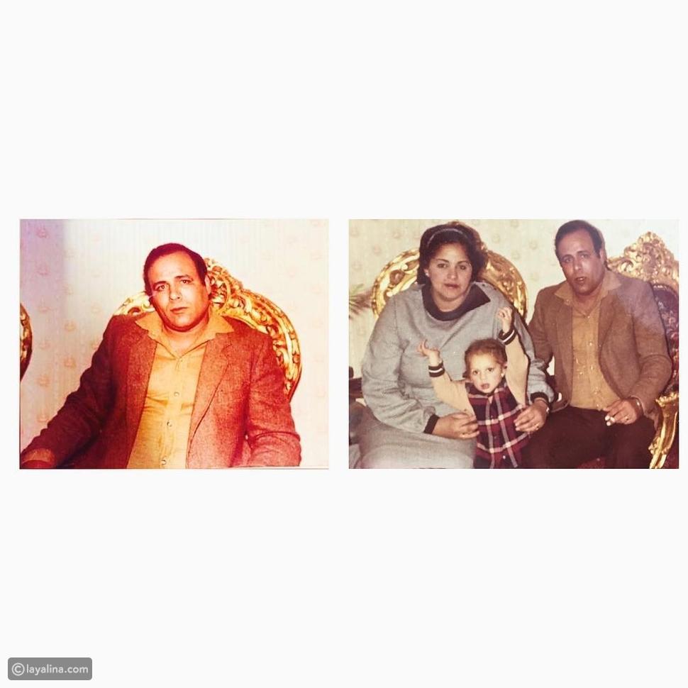 آمال ماهر تنشر صورها مع والدها وتتذكره بكلمات مؤثرة