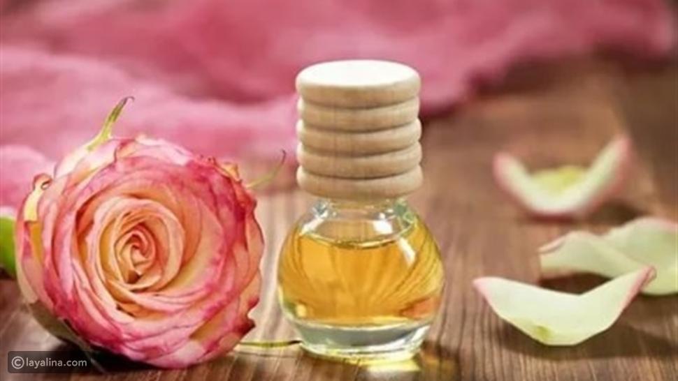زيت الورد للشعر وكيفية استخدامه