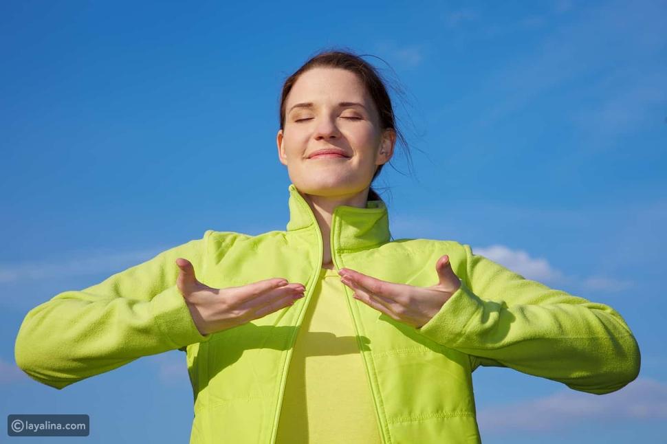 تمارين اليوغا والتنفس العميق تساهم بشكل كبير في تحسني صحة جهازك التنفسي