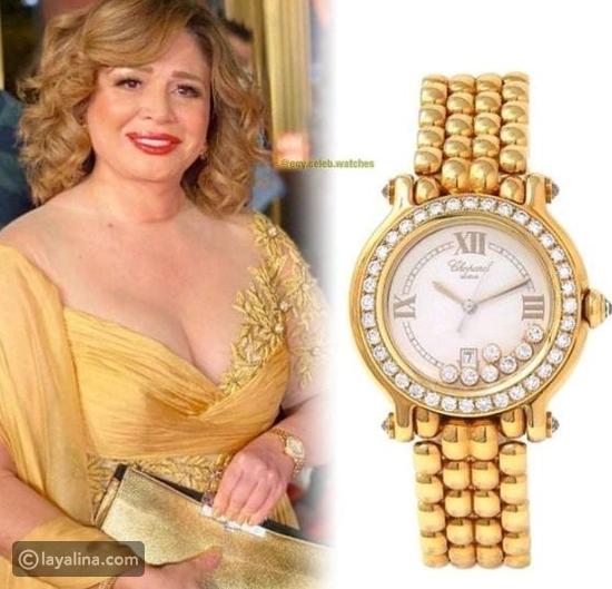 إلهام شاهين تتفوق على ياسمين صبري بسبب ساعة يدها: كم بلغ سعرها؟