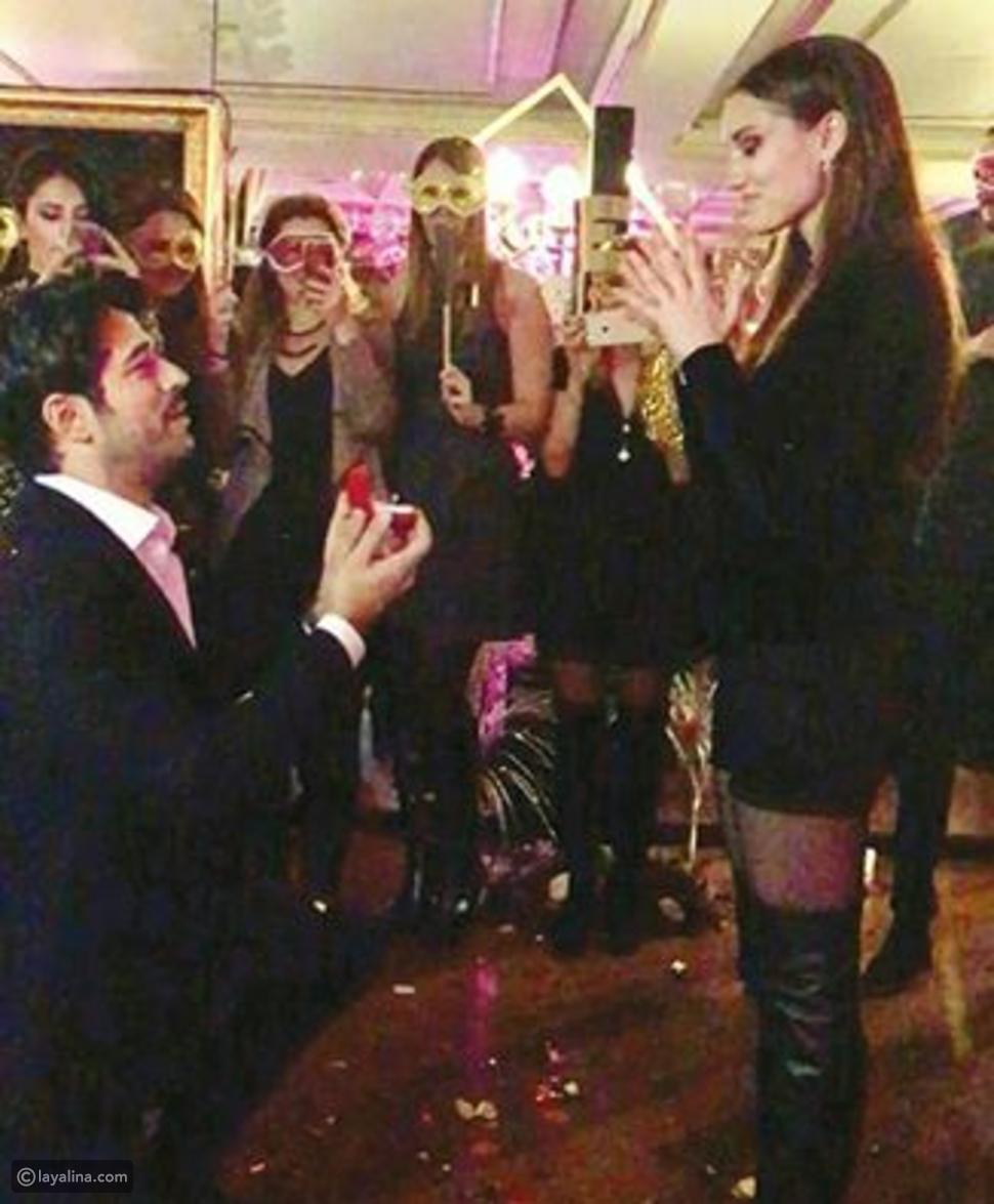 صور بوراك أوزجيفيت يطلب الزواج من فهرية أفجان وهذا ثمن خاتم الزواج
