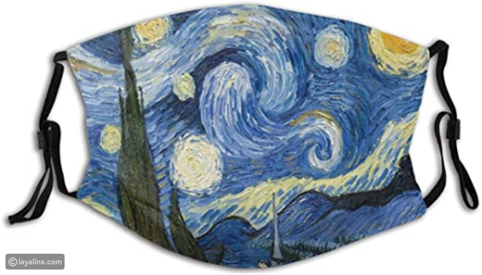 قناع وجه Starry Night