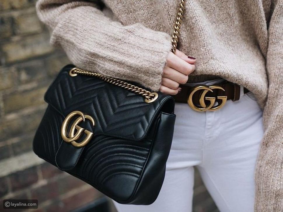 "تاريخ Gucci مع حرف ""G"""