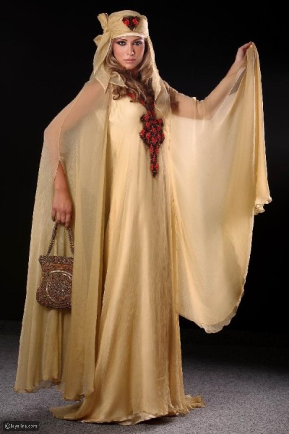 خيارات أزياء العروس في حفلة الحناء وسهرة كتب الكتاب (المِلكة)