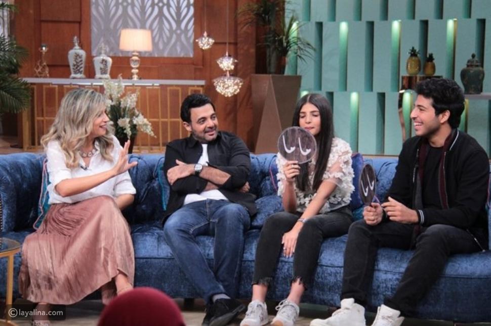 عائلة عمرو محمود ياسين في برنامج معكم