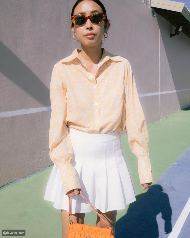 تنورة كسراتPleated Skirt