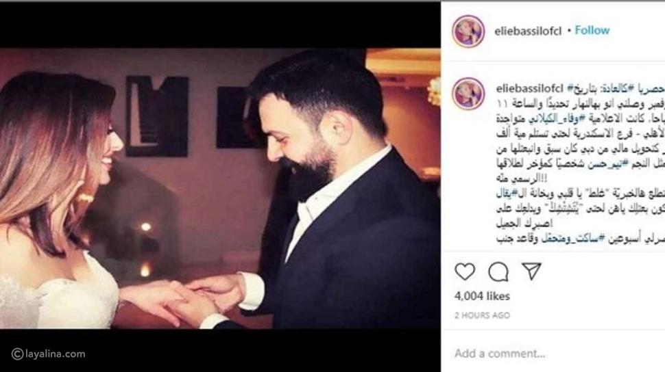 طلاق تيم حسن ووفاء الكيلاني من أجل 100 ألف دولار